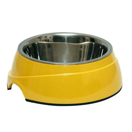 Image of 2 in 1 Melamine Bowl Small Yellow
