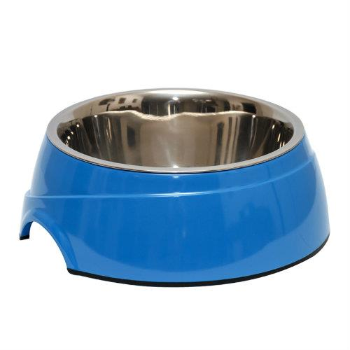 Image of 2 in 1 Melamine Bowl Small Blue