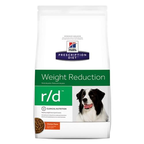 Image of Hills Prescription Diet r/d Weight Reduction Dry Dog Food 12.5kg