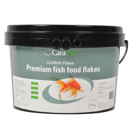 Cara Pet Goldfish Fish Food Flakes Bulk Pack 500g