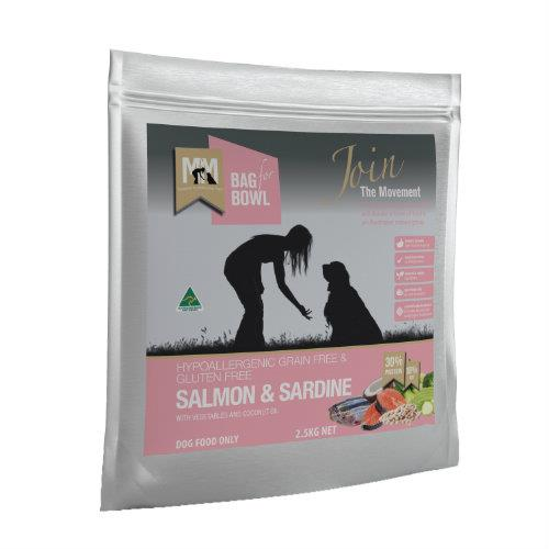 Meals for Mutts Grain Free Salmon & Sardine 2.5kg