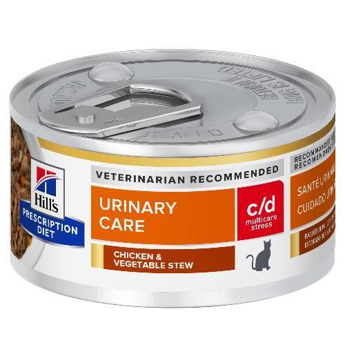 Hills Prescription Diet c/d Multicare Stress Urinary Care Chicken...