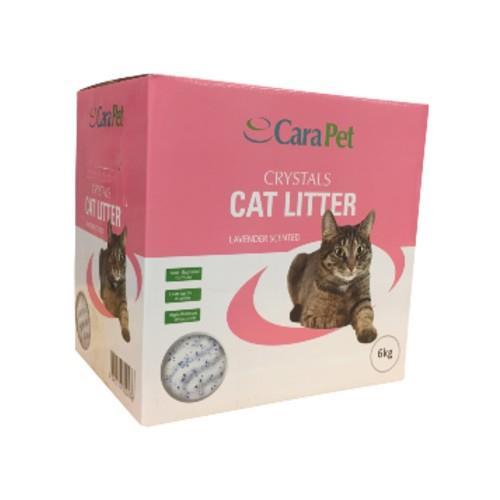Cara Pet Cat Litter Crystals Lavender 6kg