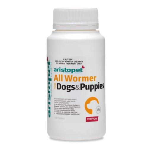 Aristopet All Wormer Dogs and Puppies 100 pack