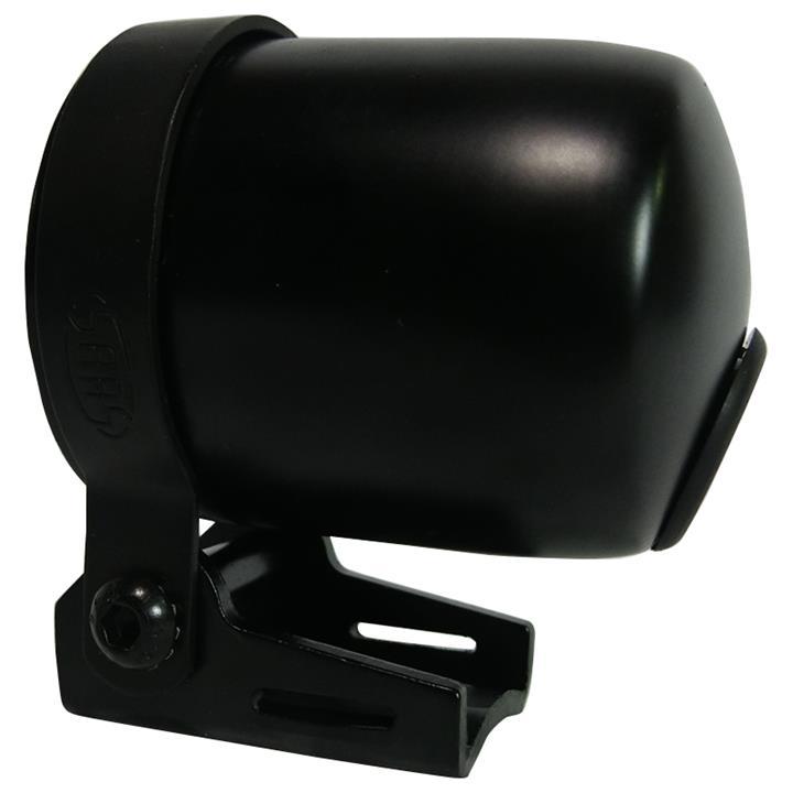 Image of Saas 52mm 2 1/16 Inch Car Gauge Cup Holder Black Dash Mount