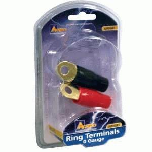 Image of 0 Ga Ring Terminal PK 2 1R/1B
