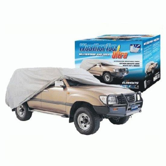 Image of Weathertec Ultra Weatherproof Car Cover Large 4WD CC36