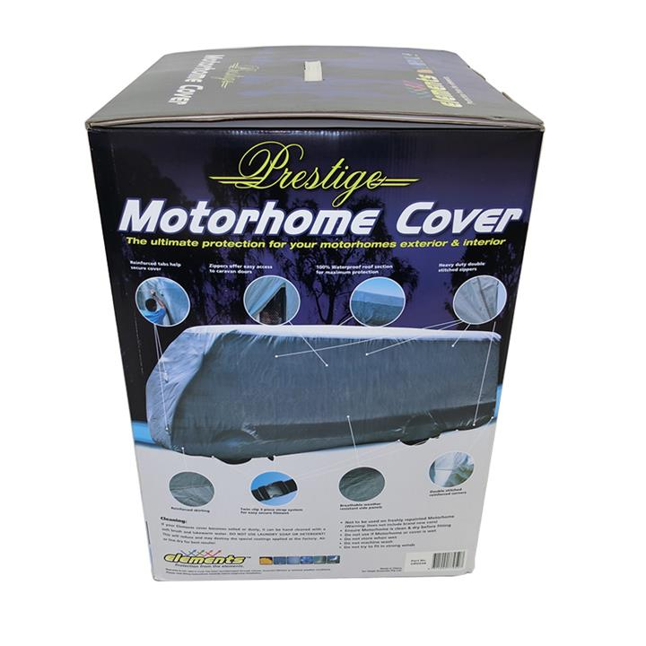 Image of Prestige Class C Cab-Over Motorhome RV Cover Waterproof 23Ft To 26Ft 7.0 To 7.9M CRV26C