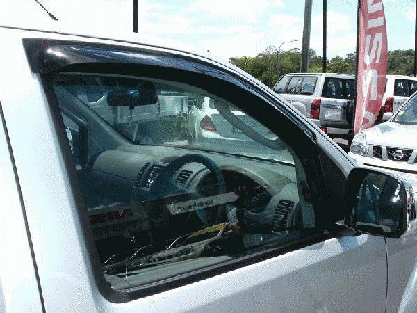 Image of Driver - Smoke Tint - Slimline Weathershield Mazda BT50 Single / Freestyle / Cab Chassis 11/2011-On MZ170SLD