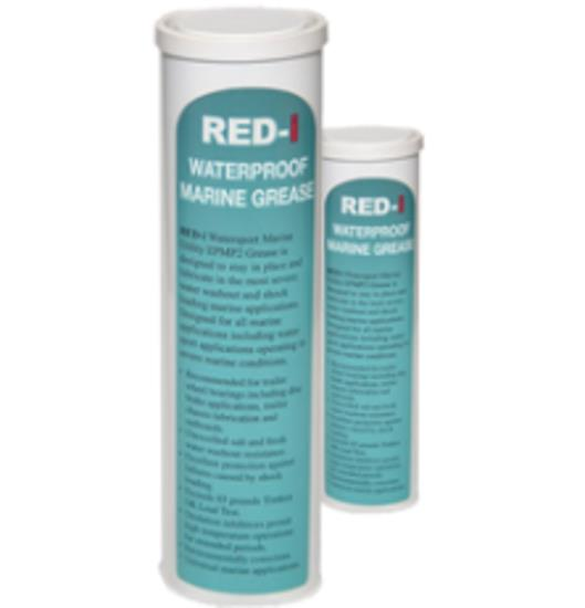 Image of Morey's 450gm Sea Green Red i EP2 Superior Marine Watersport Lithium Grease 43004-MG Moreys