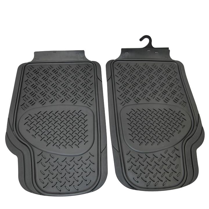 Image of Sentry Rubber Floor Mats Front - Black Pair