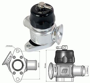Image of Turbosmart Bov Dual Port - Nissan