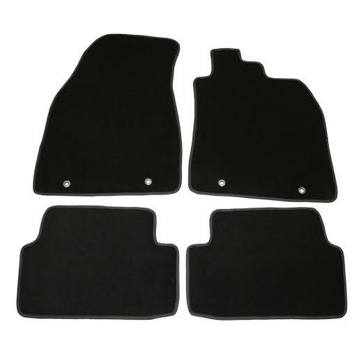 Image of Floor Mats Mercedes B-Class W245 2005-2011 Custom Front & Rear [Colour: Charcoal]