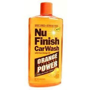 Image of Nu Finish Car Wash Orange Oil 473 Ml NuFinish