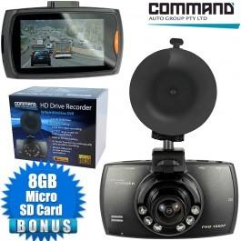 Image of Command HD DVR Car Blackbox Recorder & Camera SD HDMI 2.7 Inch Screen 92DVRIR Dashcam