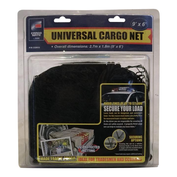 Image of Rear Boot Cargo Net Heavy Duty Large 270cm x 180cm CGN02