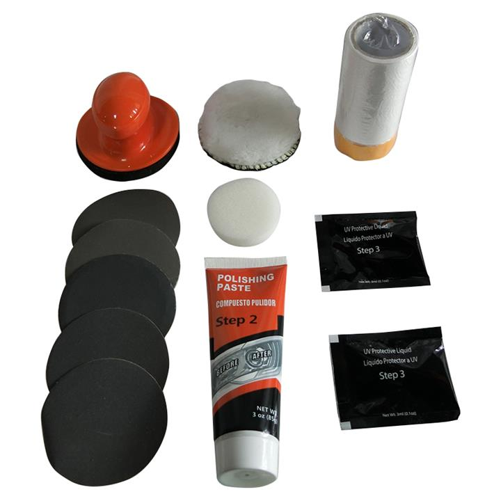 Image of Glassylite Headlight Lens Restoration Kit