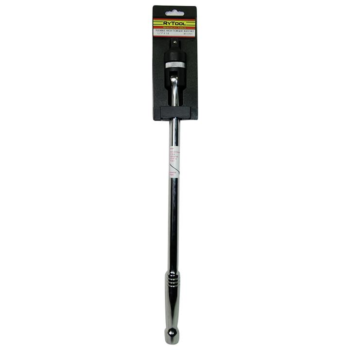 Image of RyTooL - 1/2 inch Drive 450mm (18 inch) Reversible Ratcheting Breaker Bar RT1201