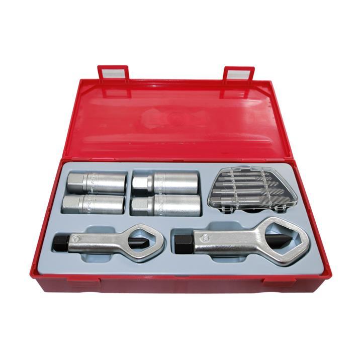 Image of Teng Tools - 11 Piece Stud Bolt Nut Screw Extractor Remover Set TTSN11