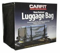 Image of Carfit Steel Mesh Luggage Basket And Luggage Bag Combo