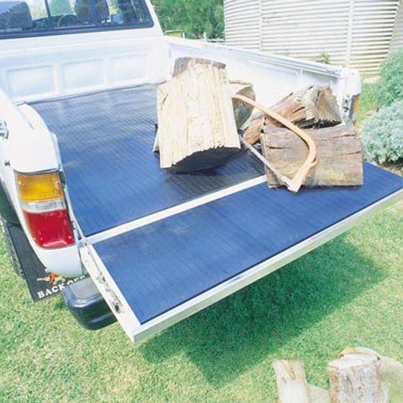 Image of Moulded Rubber Ute Mat Mazda BT50 Dual Cab 9/2011-On