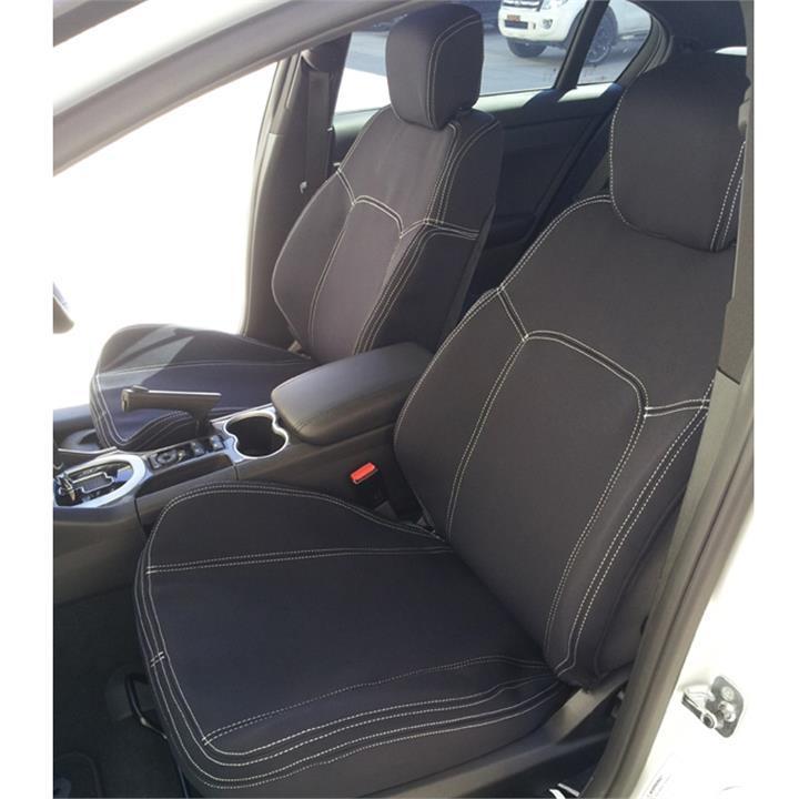 Image of Wet Seat Neoprene Seat Covers Hyundai iMax TQ-W Van 2/2008-6/2009