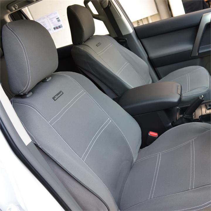 Image of Wet Seat Grey Neoprene Seat Covers Hyundai iMax TQ-W Van 2/2008-6/2009