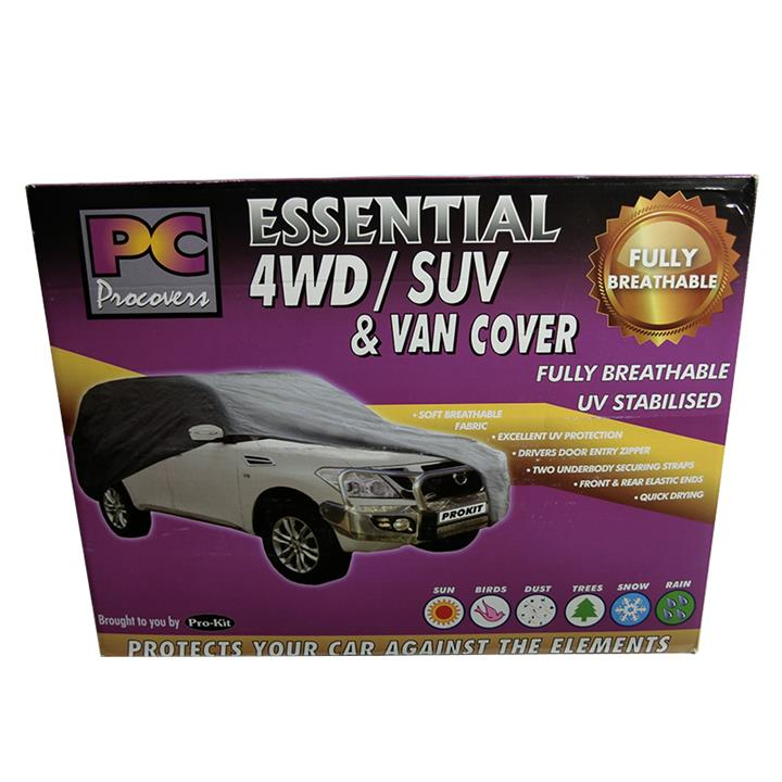 Image of PC Procovers Essential Weatherproof Car Cover X-Large 4WD PC40110XL