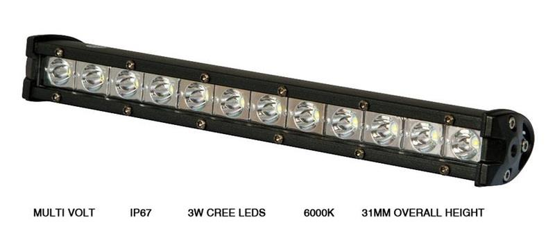Image of LED Light Bar 72Watt 6000K Spot