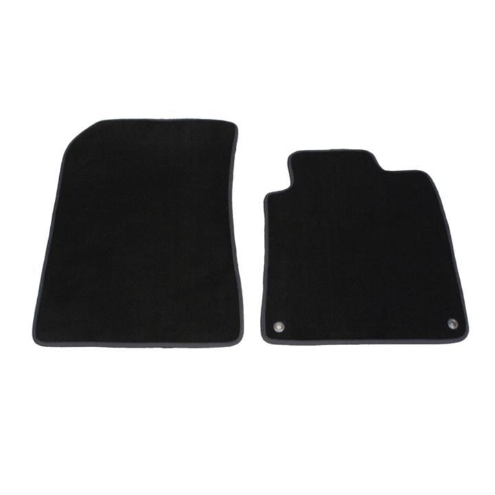 Tailor Made Floor Mats Isuzu D-Max SX/LX Single Cab & SX/LS-U Space Cab 6/2012-7/2020 Custom Fit Front Pair