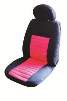 Image of Ice Mesh Front Seat Covers Pair Airbag Safe Size 30 Pink