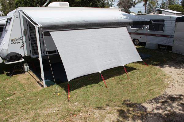 Image of Caravan and RV Motorhome Privacy Screen 1.8m x 3.4m CPS34