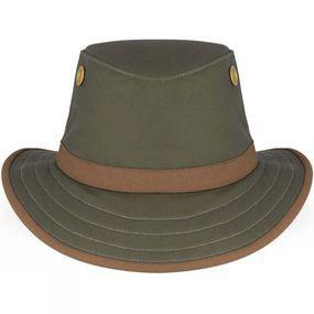 Tilley TWC7 Outback Hat Green/British Tan