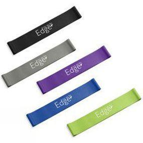 Live on the Edge Loop Band 5 Pack (60cm X 5cm) Multi