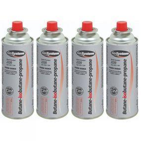 GoSystem Butane Gas Catridge 227g x 4 No Colour