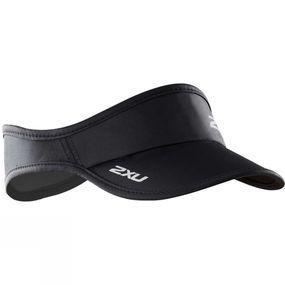 2XU Run Visor Black