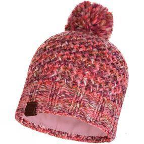Buff Knitted Hat Margo Flamingo Pink