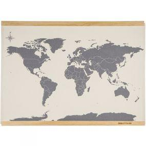Suck UK Cross Stitch Map No Colour