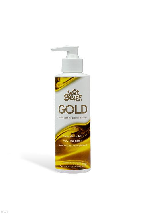 Wet Stuff Gold Lubricant with Pump Dispenser (270g)
