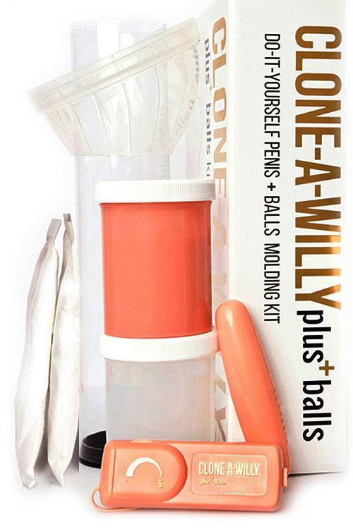 US Novelties Clone A Willy's Vibrating Casting Kit Plus Balls