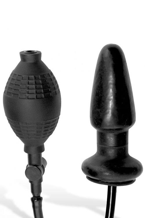 "Master Series 5"" Inflatable Butt Plug"