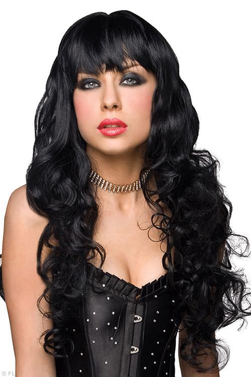 Pleasure Wigs Missy Quality Wig - Black