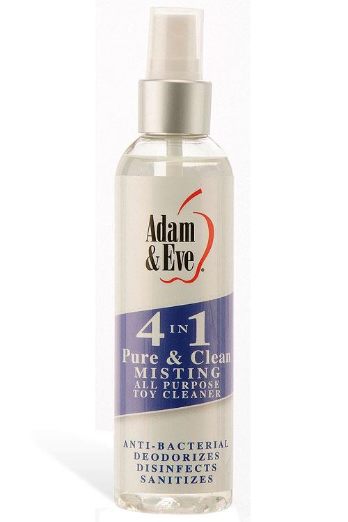 Adam and Eve 4-In-1 Misting Toy Cleaner (118ml)