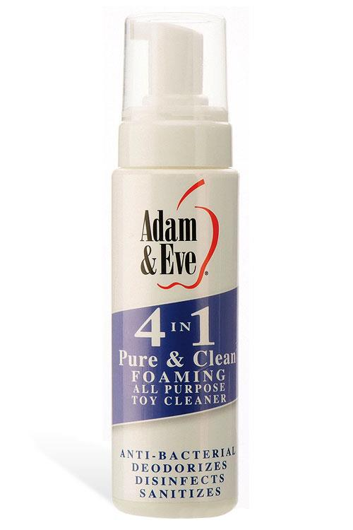 Adam and Eve 4-In-1 Foaming Toy Cleaner (237ml)