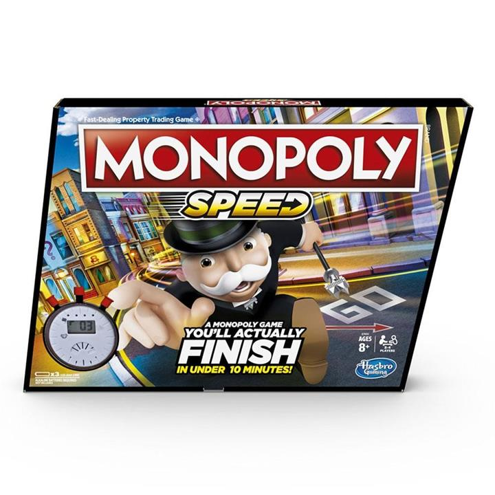 Toys : Monopoly Speed Boardgame