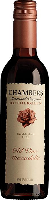 Image of Chambers Rosewood Vineyards Old Vine 375ml Muscadelle NV