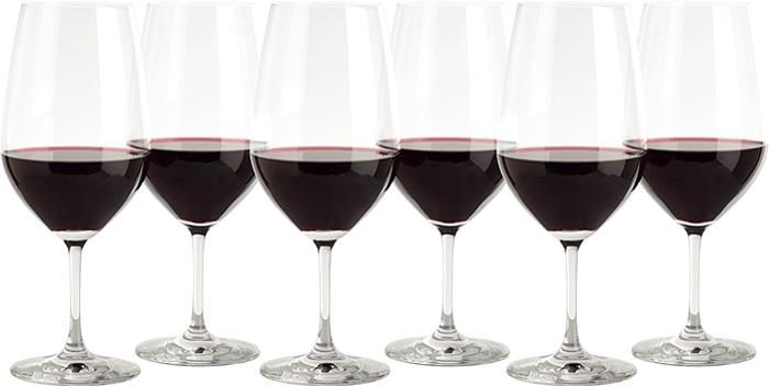 Image of Schott Zwiesel Everyday Vina Bordeaux/Claret Glasses 6-Pack
