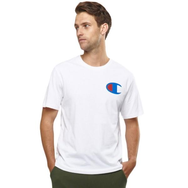Champion C Logo Mens T-Shirt - White
