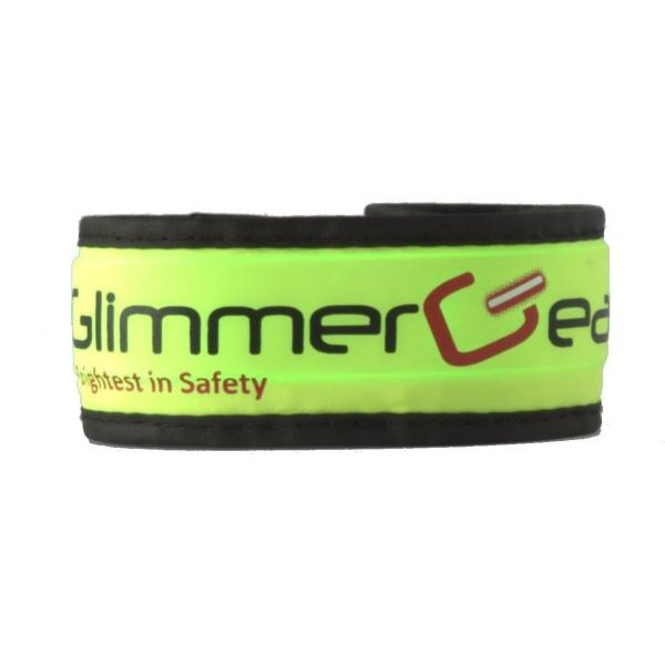 Glimmer Gear LED High Visibility Slap Band - Green