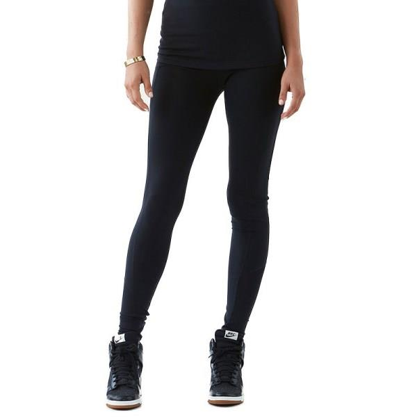 Bayse Essential Full Length Womens Training Tights - Black